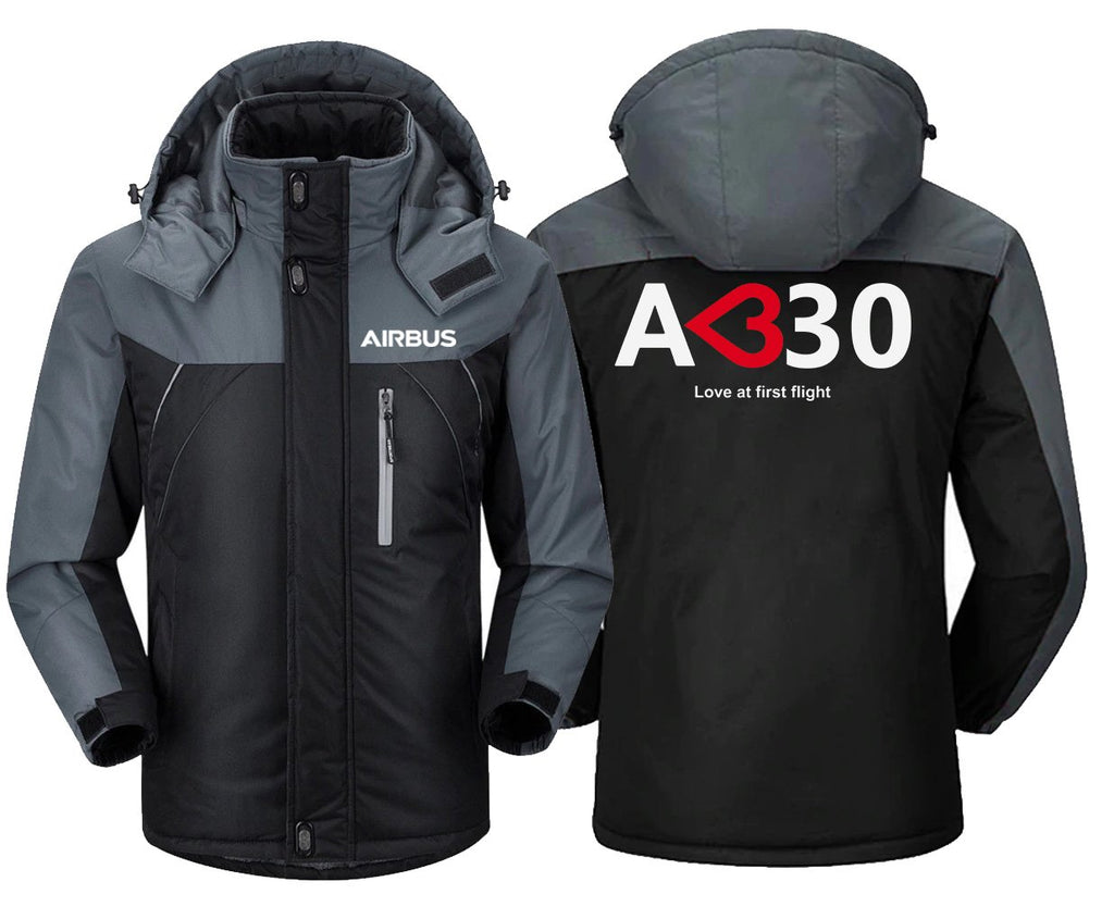 AIRBUS A330 LOVE AT FIRST FLIGHT DESIGNED WINDBREAKER -