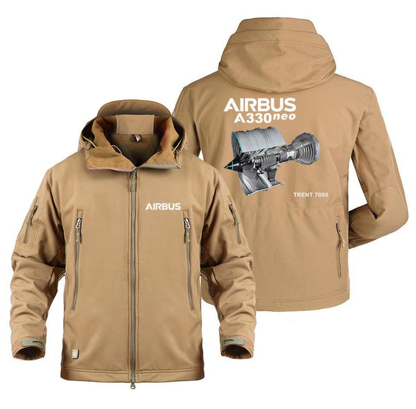 AIRBUS A330NEO TRENT 7000 DESIGNED MILITARY FLEECE - Sand /