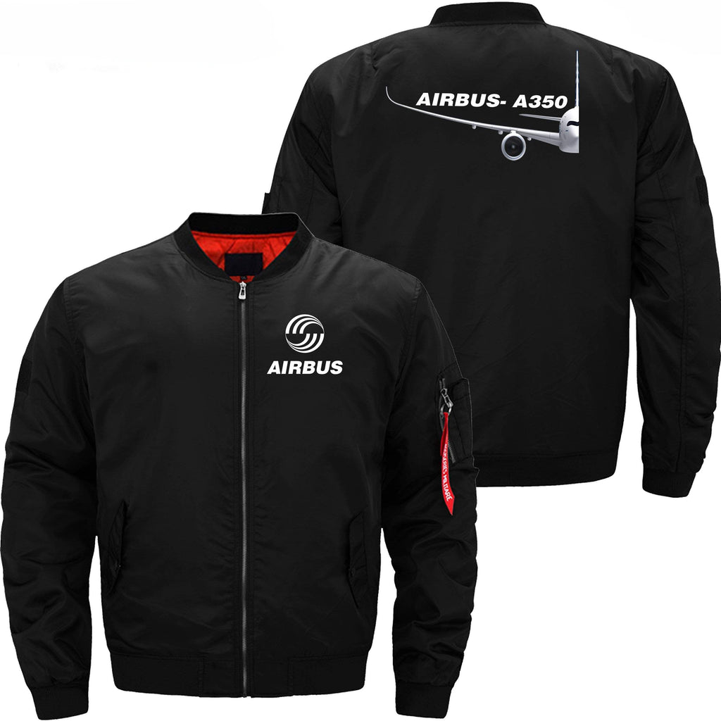 PilotX Jacket Black thin / XS Airbus A350 Side View