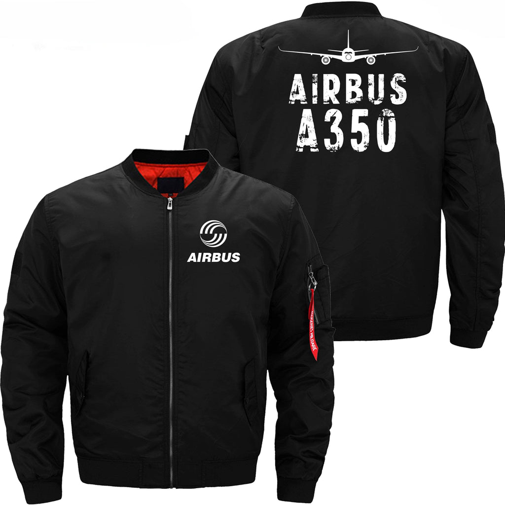 PilotX Jacket Black thin / XS Airbus A350 With Aircraft
