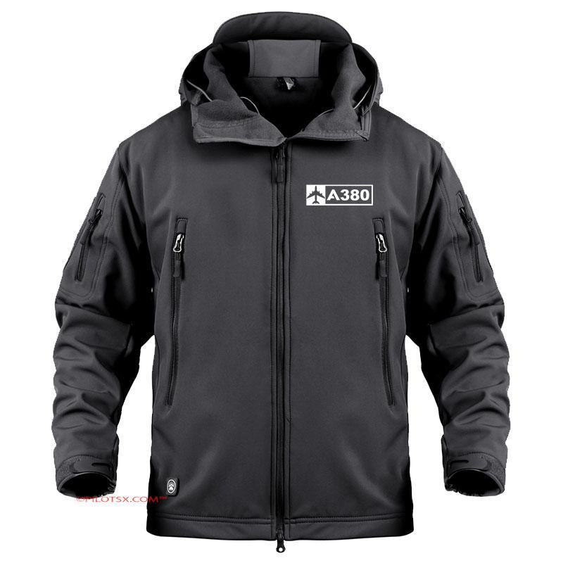 AIRBUS A380 - Black / S - Military Fleece