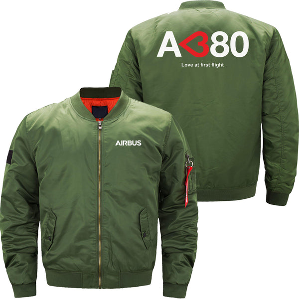 A380 LOVE AT FIRST FLIGHT - JACKET - THE AV8R