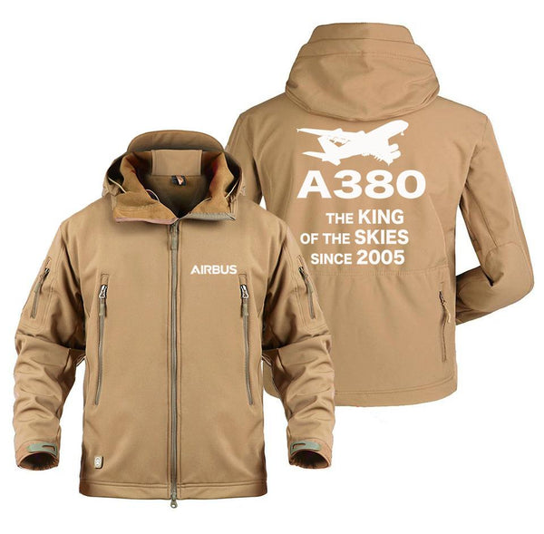 AIRBUS A380 THE KING OF THE SKIES SINCE 2005 MILITARY FLEECE