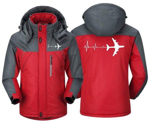 MA1 Windbreaker Jackets Airplane Pilot -Heartbeat