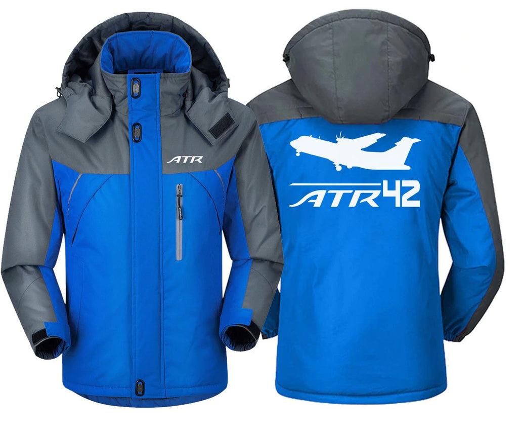 ATR 42 DESIGNED - Blue Gray / S - Windbreaker Jackets