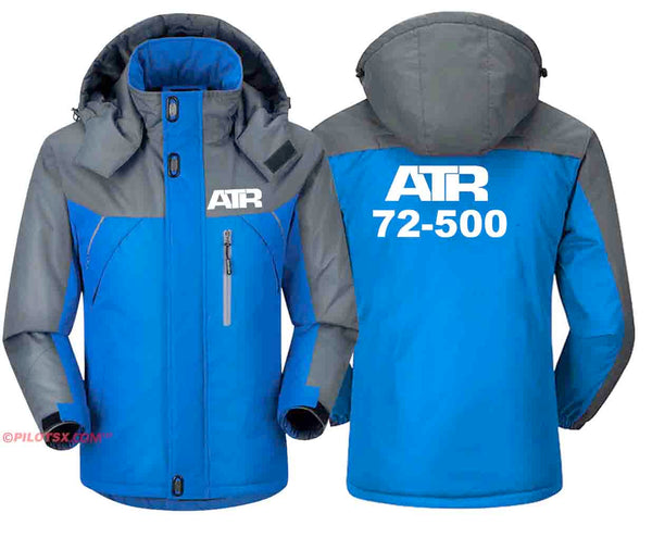 PILOTSX Windbreaker Jackets Blue Gray / S ATR 72-500 Jacket