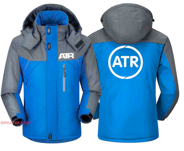 PILOTSX Windbreaker Jackets Blue Gray / S ATR  Jacket