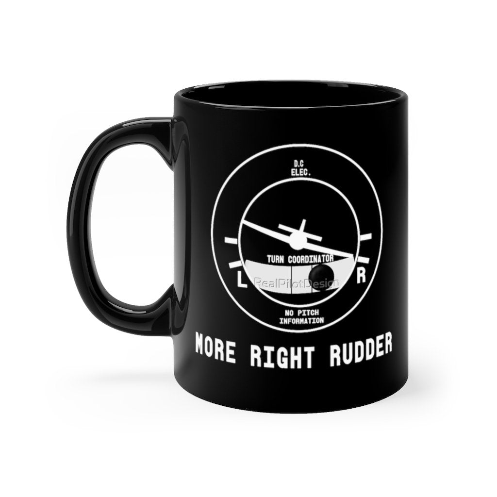 MORE RIGHT RUDDER DESIGNED - MUG