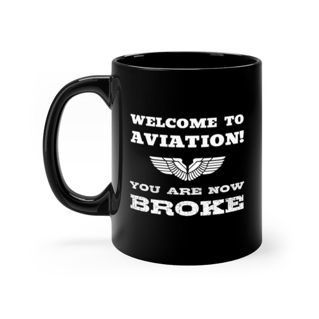 AVIATION DESIGNED MUG - 11oz - Mug