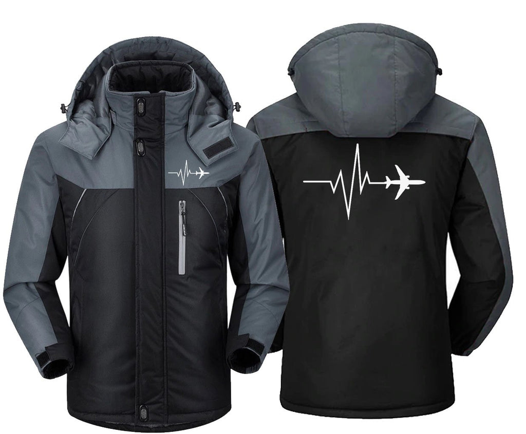 AVIATION PULSE WITH AIRPLANE DESIGNED WINDBREAKER JACKET -