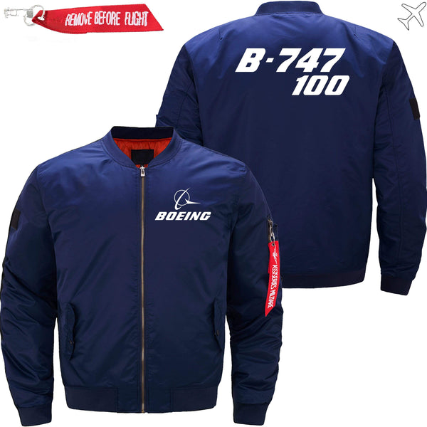 PilotX Jacket Dark blue thin / XS B-747-100 -US Size