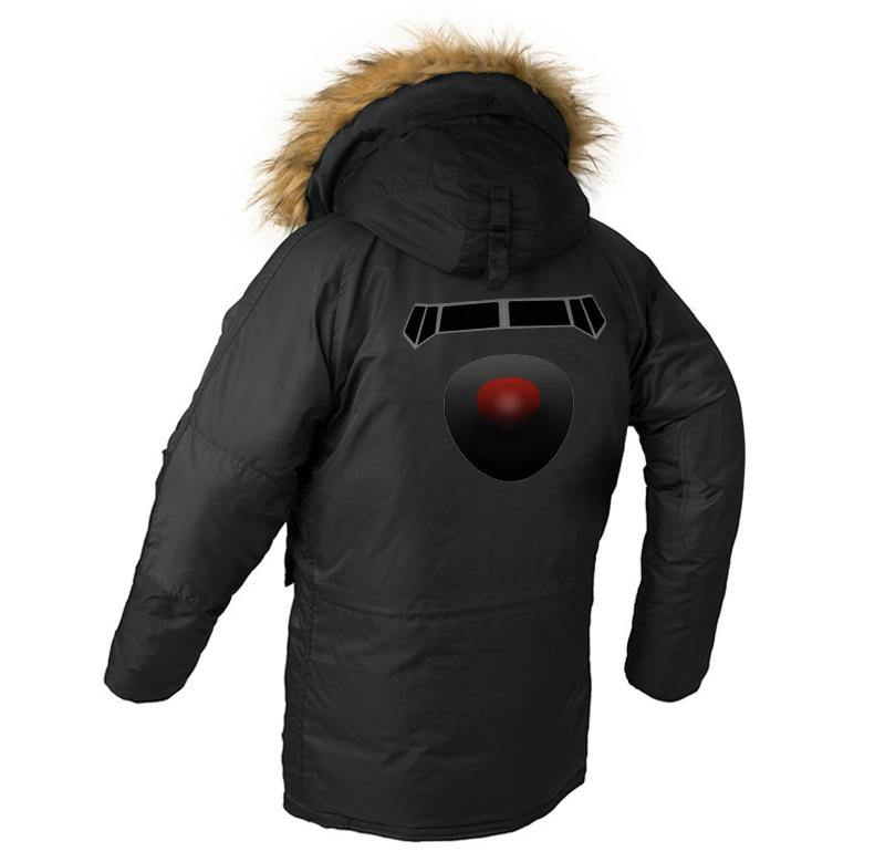 B DESIGNED WINTER N3B PUFFER COAT - THE AV8R