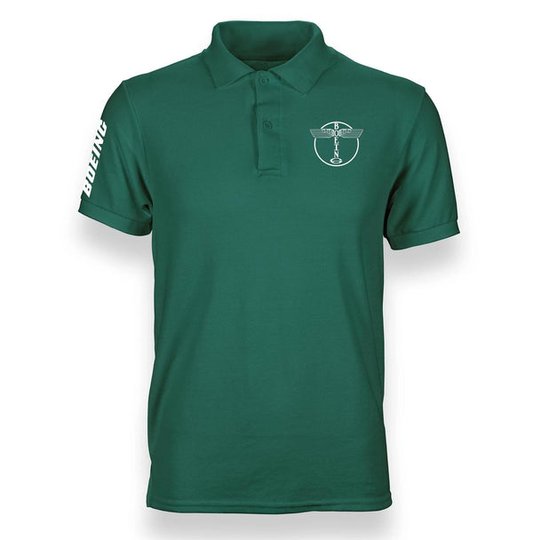 B LOGO DESIGNED POLO SHIRT - THE AV8R