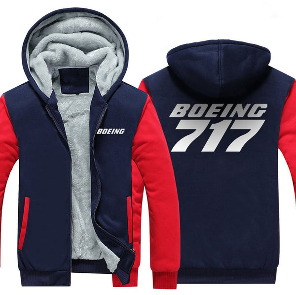 B717 DESIGNED ZIPPER SWEATER - Hoodies
