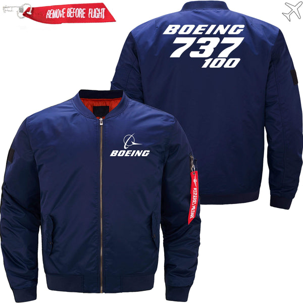 PilotX Jacket Dark blue thin / XS Boeing 737-100