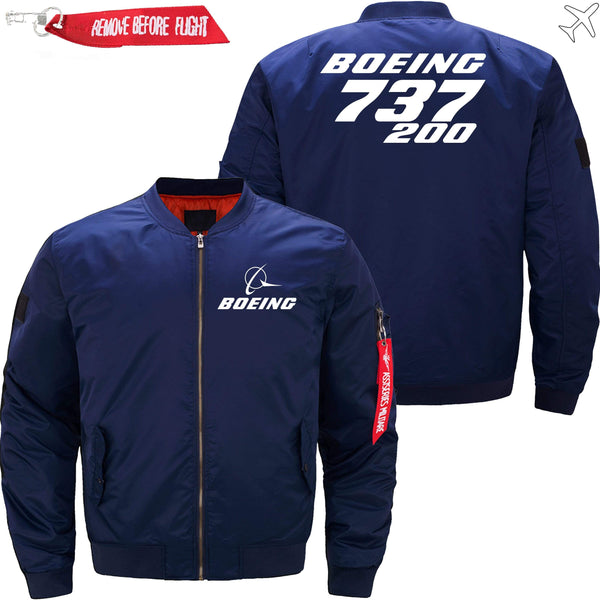 PilotX Jacket Dark blue thin / XS Boeing 737-200