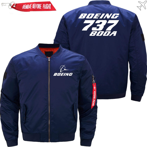 PilotX Jacket Dark blue thin / XS Boeing 737-800A