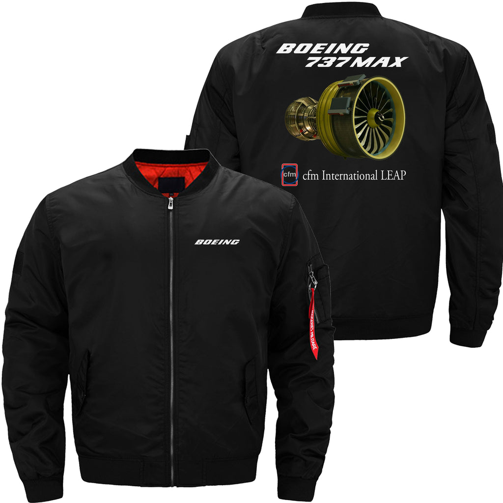B737 CFM DESIGNED - JACKET - Black thin / XS - MA1 JACKET