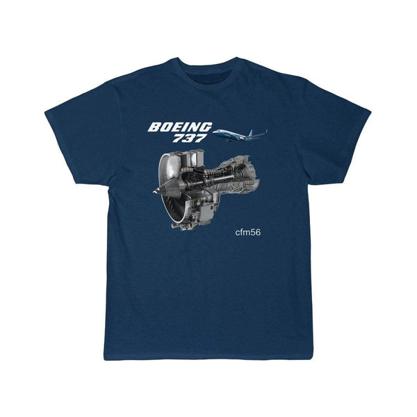 B737 CFM56 DESIGNED T SHIRT - THE AV8R