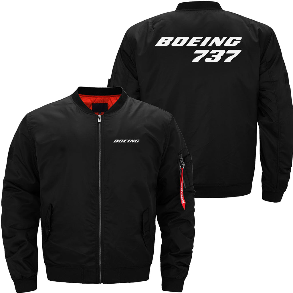 B737 DESIGNED - JACKET - Black thin / XS - MA1 JACKET