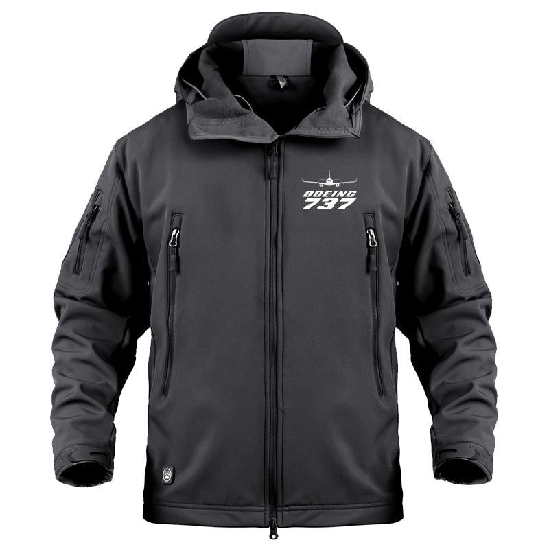 B737 DESIGNED MILITARY FLEECE - Black / S - Military Fleece