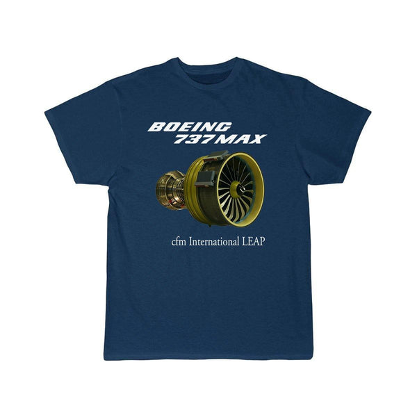 B737 MAX CFM INTERNATIONAL LEAP DESIGNED T SHIRT - THE AV8R