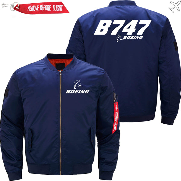 PilotX Jacket Dark blue thin / XS Boeing 747 -US Size