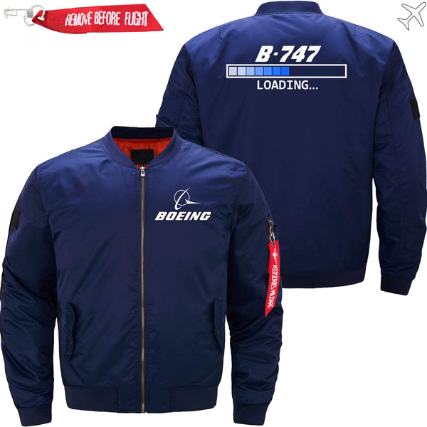PilotX Jacket Dark blue thin / XS Boeing 747 Loading... -US Size