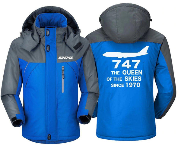B747 THE QUEEN OF THE SKIES SINCE 1970 DESIGNED WINDBREAKER - THE AV8R