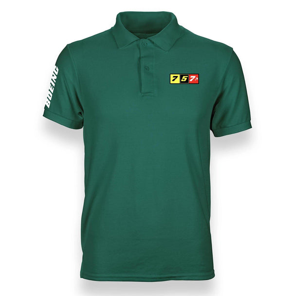 B757 DESIGNED POLO SHIRT - THE AV8R