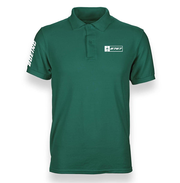 B767  DESIGNED POLO SHIRT - THE AV8R