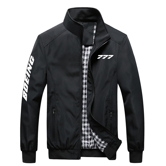PilotX Summer Jacket Black / S Boeing 777