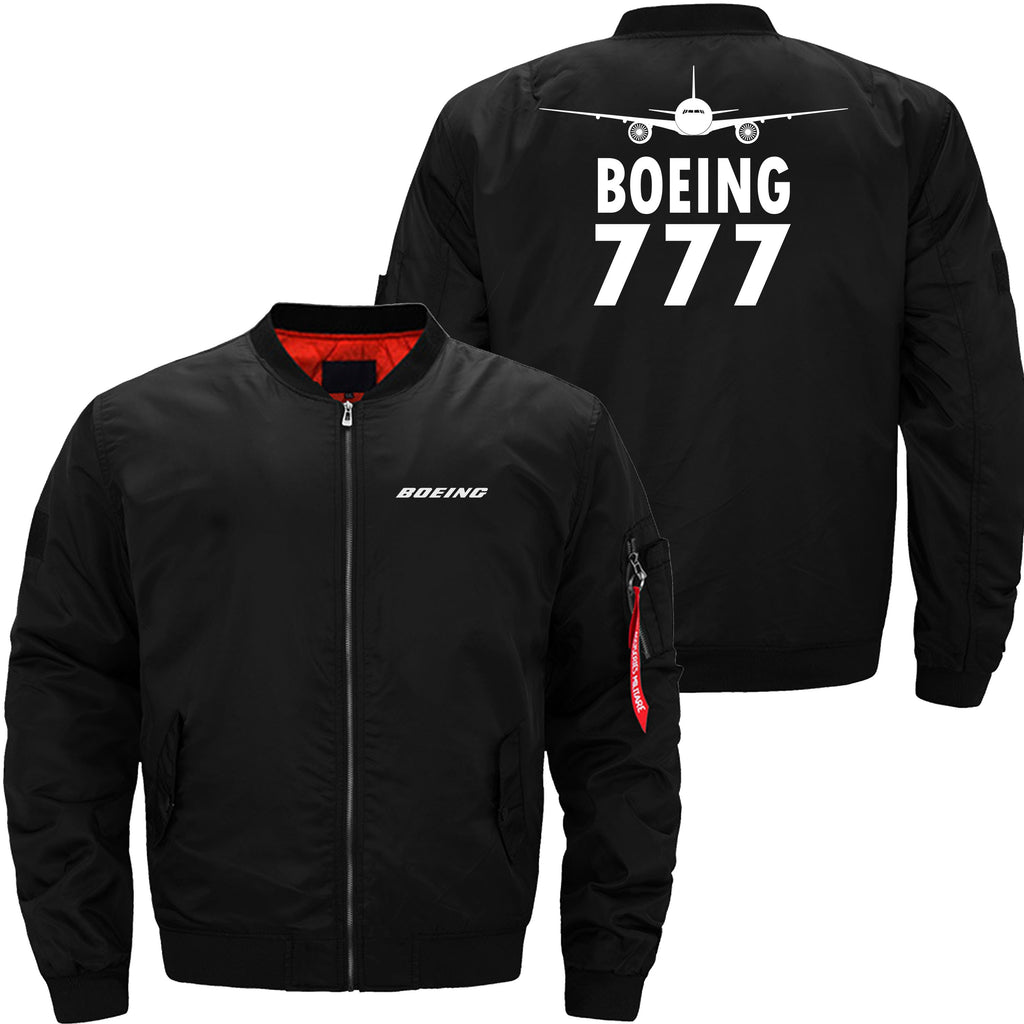 B777 DESIGNED - JACKET - Black thin / XS - MA1 JACKET