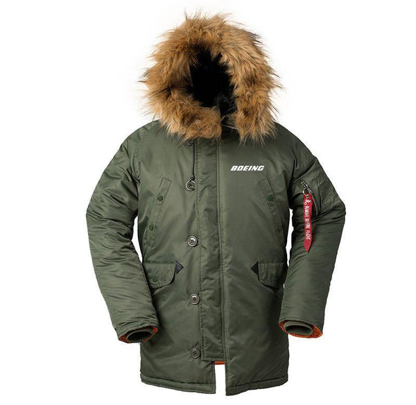 B777 DESIGNED WINTER N3B PUFFER COAT - THE AV8R