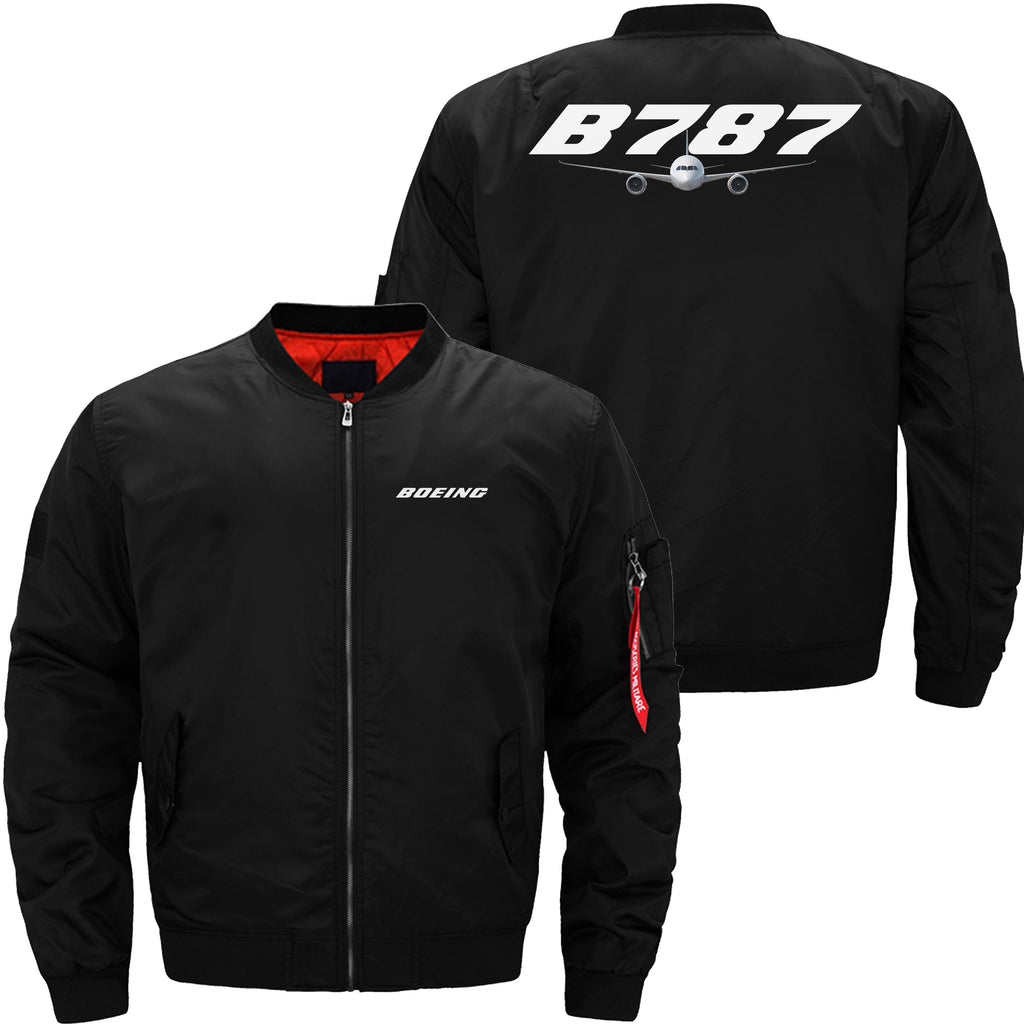 B787 DESIGNED - JACKET - Black thin / XS - MA1 JACKET