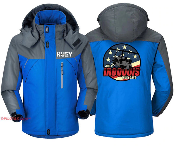 BELL UH-1 IROQUOIS - Blue Gray / S - Windbreaker Jackets