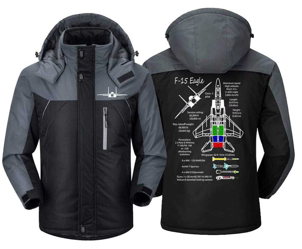 MA1 Windbreaker Jackets F 15 Eagle