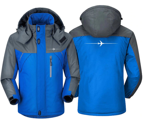 LINE CROSSING THE PLANE WINDBREAKER JACKET - Windbreaker