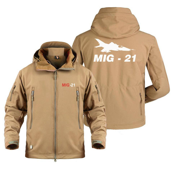 M I G 2 1 DESIGNED MILITARY FLEECE - Sand / S - Military