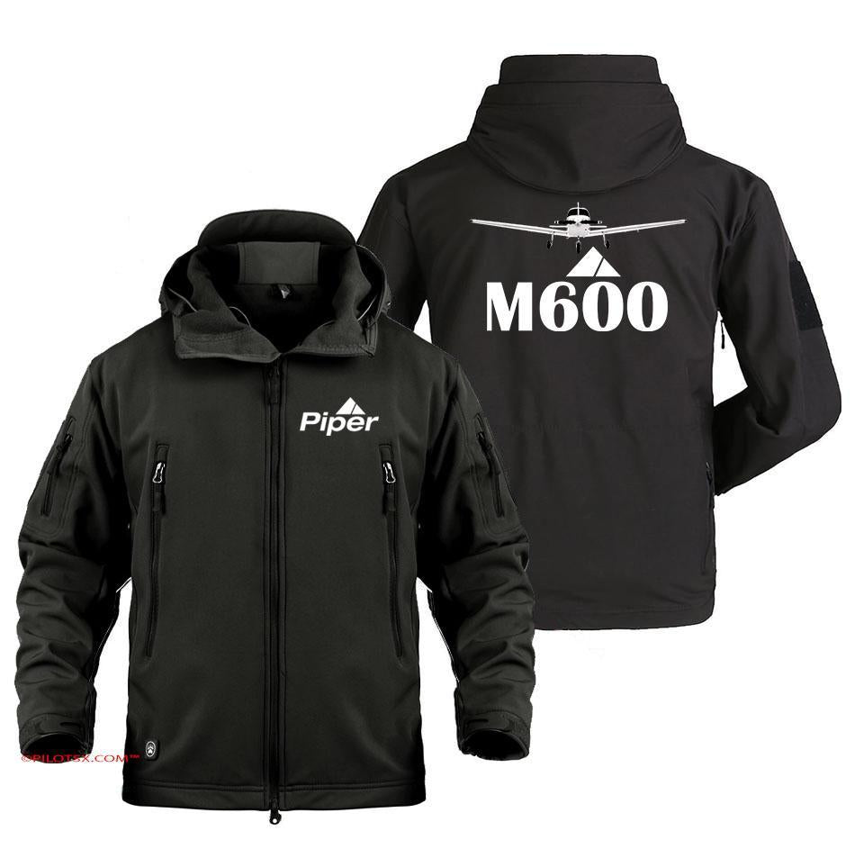PIPER-M600 AIRCRAFT - Black / S - Military Fleece