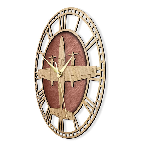 Cessna 425 Conquest I Wooden Wall Clock