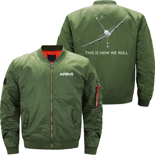 THIS IS HOW WE ROLL A380 DESIGNED - JACKET - THE AV8R