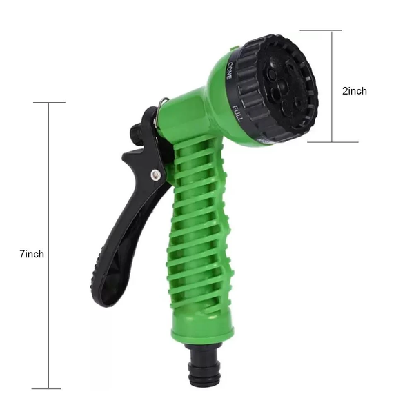 Hig Pressure Water Sprayer Nozzle Gun,  Use it for Gardening, Car/Bike Wash, Pet Bath, Clean Floors, Walls, Windows or anything that you can think of...