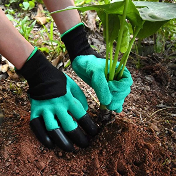 Gardening Gloves with metal claws for men & women