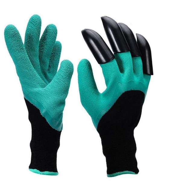 Gardening Genie Gloves with Claws on right hand