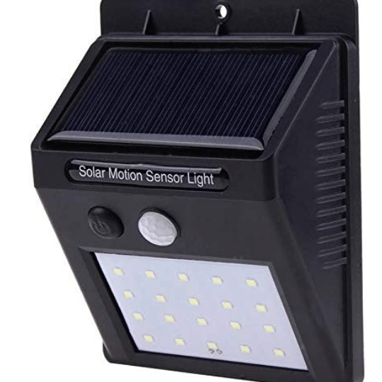 Solar LED Light for Outdoors Garden Lawn Path , DIM LIGHT SENSOR MODE. solar LED light will give dim light when no one is near it. becomes bright anyone comes around and the bright light will last roughly 15-20 seconds & then will return to dim light again.
