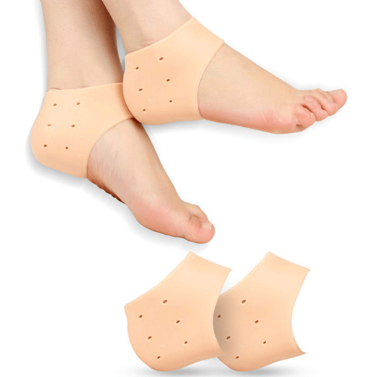 Silicone Gel Socks are free size & can be used by men women & kids