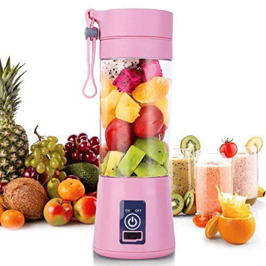 Rechargeable Portable Electric Blender juicer  bottle cup usb Charging bottle amazon in Delhi India