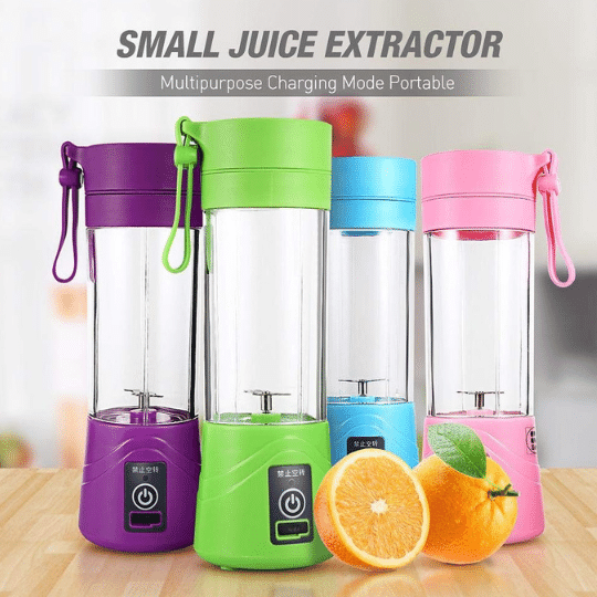 Best quality portable non electric wireless USB Juice Extractor, blender, mixer Juicer in India new delhi