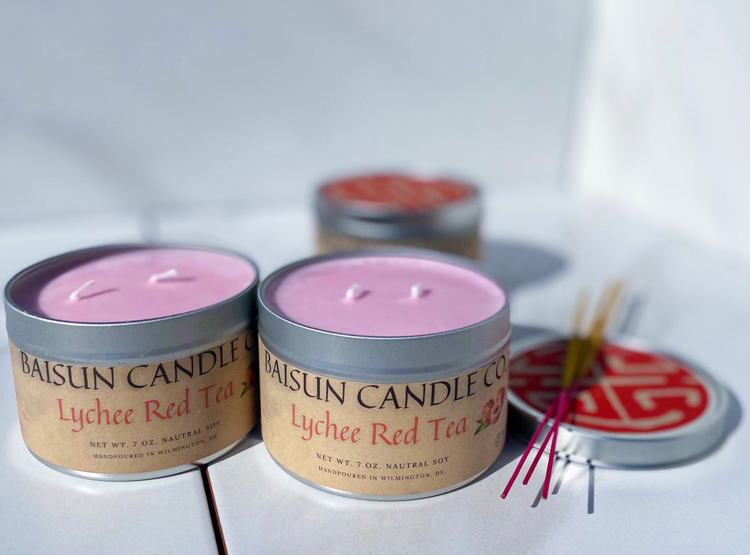 Lychee Red Tea - Scented Candle